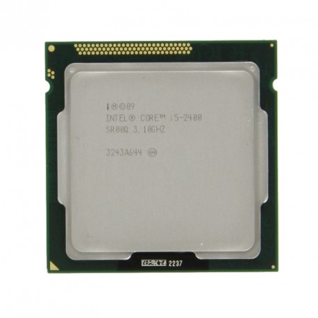 Processeur CPU Intel I5-2400 Quad Core 3.1Ghz Socket LGA1155 SR00Q PC