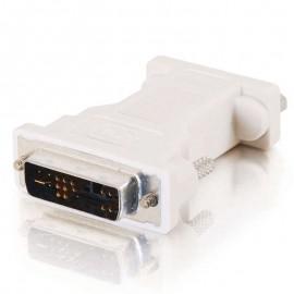 Adaptateur VGA Femelle DB-15 vers DVI-A Mâle Ecran PC MAC Beige