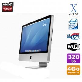 "Apple iMac 24"" 8.1 TFT Core 2 Duo 2,66GHz 4Go 320Go SATA Graveur DVD Wifi"
