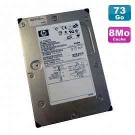 "Disque Dur 73Go Ultra SCSI 320 3.5"" HP 15K ST373453LW 68Pin 8Mo"