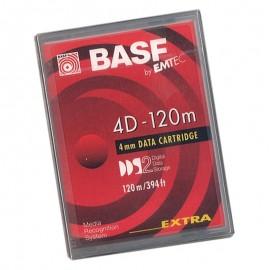 Cartouche Lecteur Bande DDS-2 BASF 4D-120m EMT343827EUS 4GB / 8GB