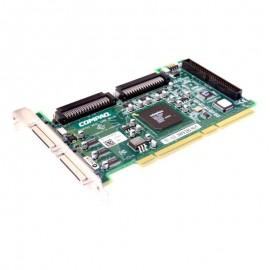 Carte Contrôleur SCSI Adaptec Compaq ASC-39160/CPQ Ultra PCI-e UP601 IDC 50-PIN