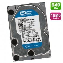 "Disque Dur 640Go SATA 3.5"" Western Digital Caviar Blue WD6400AAKX-75A7B2 7200RPM"