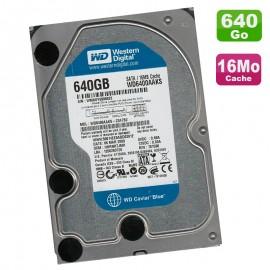 "Disque Dur 640Go SATA 3.5"" Western Digital Caviar Blue WD6400AAKX-22A7B2 7200RPM"