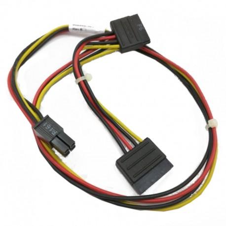 Câble Adaptateur ATX 4-Pin 2x SATA HP 628568-001 6200 6300 8100 8200 8300 Elite