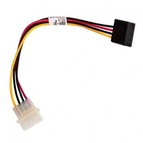 Câble Adaptateur Molex vers SATA HP Amphenol 456547-001 22cm ProLiant ML350