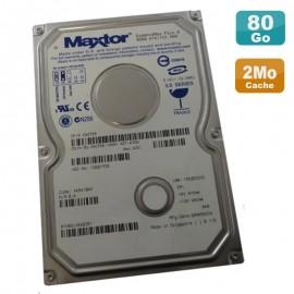 """Disque Dur 80Go IDE ATA 3.5"""" Maxtor DiamondMax Plus9 YAR41BWO 0N0738 7200RPM 2Mo"""