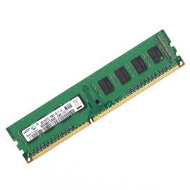 RAM PC DDR3-1333 Samsung PC3-10600U 2GB CL9 M378B5773DH0-CH9 Module Mémoire Vive