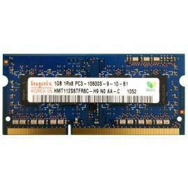 RAM PC Portable SO-DIMM DDR3-1333 MHz Hynix 1GB PC3-10600S CL9 HMT112S6TFR8C-H9