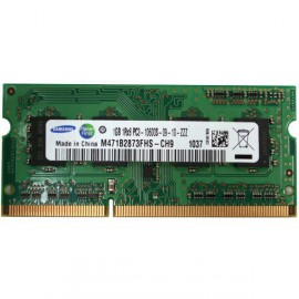 RAM PC Portable SODIMM DDR3-1333 MHz Samsung 1GB PC3-10600S CL9 M471B2873FHS-CH9