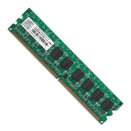 RAM Serveur DDR2-533 Mhz Transcend PC2-4200 1GB Unbuffered ECC CL4 TS128MLQ72V5J