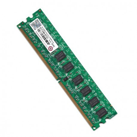 RAM Serveur DDR2-533 Mhz Transcend PC2-4200 2GB Unbuffered ECC CL4 TS256MLQ72V5U