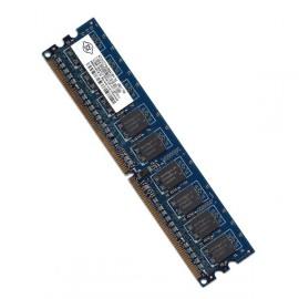 RAM Serveur DDR2-667 Nanya PC2-5300E 512MB Unbuffered ECC CL5 NT512T72U89A1BY-3C
