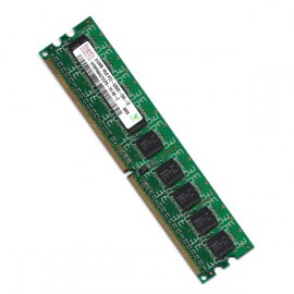 RAM Serveur DDR2-667 Hynix PC2-5300E 512MB Unbuffered ECC CL5 HYMP564U72CP8-Y5