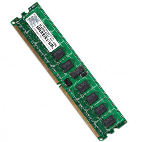 Server RAM DDR2-667 Transcend PC2-5300 1GB Registered ECC CL5 1RX4 TS128MQR72V6K