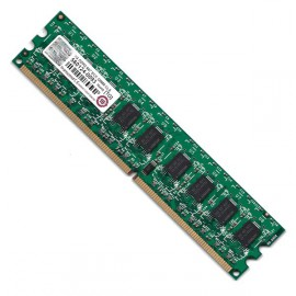 RAM Serveur DDR2-667 Mhz Transcend PC2-5300 1GB Unbuffered ECC CL5 TS128MLQ72V6J