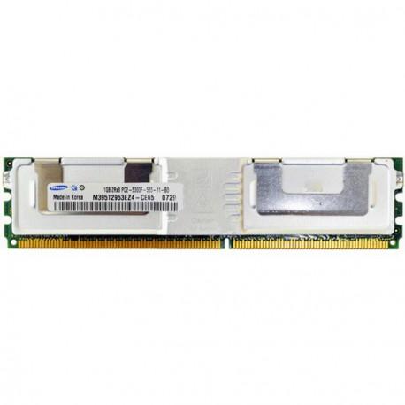 RAM Serveur DDR2-667 SAMSUNG PC2-5300F 1GB Fully Buffered ECC M395T2953EZ4-CE65