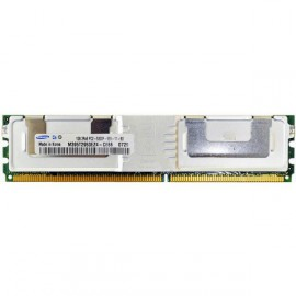 RAM Serveur DDR2-667 SAMSUNG PC2-5300F 1GB Fully Buffered ECC M395T2953EZ4-CE66