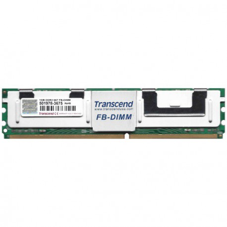 1GB RAM Serveur Transcend TS128MFB72V6J-T DDR2-667 PC2-5300F Fully Buffered ECC