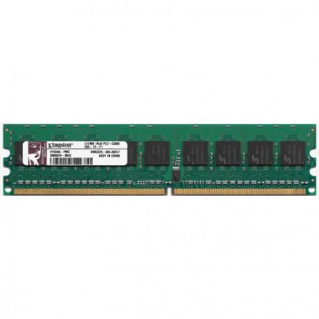 512Mo RAM Mémoire Serveur KINGSTON KY5948-PMC DDR2-533 PC2-5300E ECC 1RX8 DIMM