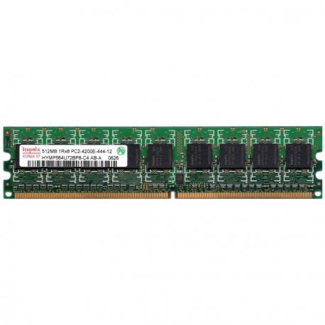 RAM Serveur DDR2-533 HYNIX PC2-4200E 512MB Unbuffered CL4 HYMP564U72BP8-C4 AB-T