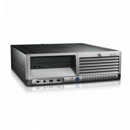 PC HP Compaq DC7600 SFF Intel Pentium 4 2.8Ghz 2Go DDR2 2To SATA Windows XP Pro