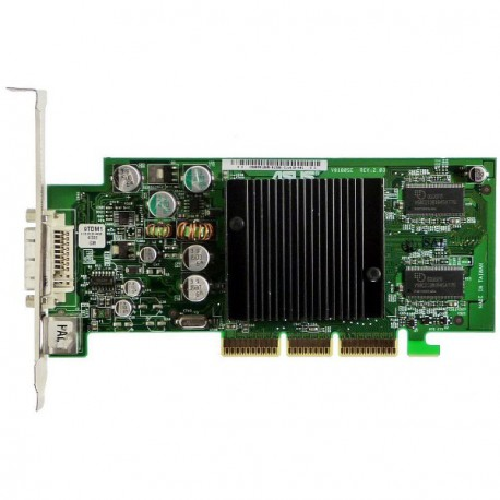 Carte Graphique ASUS nVidia GeForce4 MX440 350Mz AGP8x 64Mo DVI-I TV-Out V9180SE
