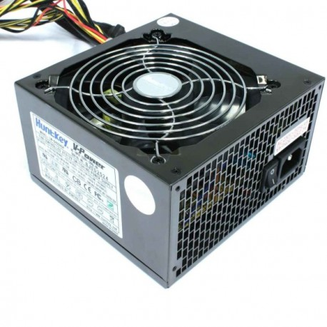 Alimentation ATX HUNTKEY LW-6400HGP 400W ventilateur 120mm 6 broches PCI-Express