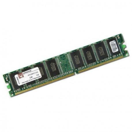 Ram Barrette Mémoire KINGSTON 1Go DDR SDRAM PC-3200 400MHz KFJ2847 Unbuffered