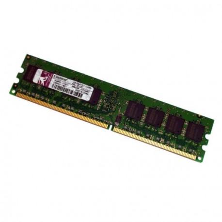 Ram Barrette Mémoire Kingston 1Go DDR2 PC2-4200 533Mhz KC6844-ELG37 9995230 PC