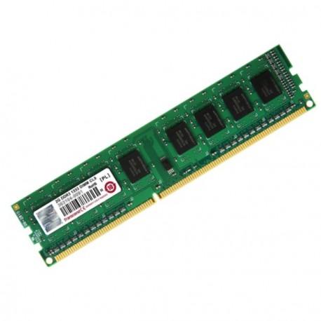 2Go Ram Barrette Mémoire TRANSCEND JM1333KLN-2G DDR3 PC3-10600U 1333MHz 1Rx8 CL9