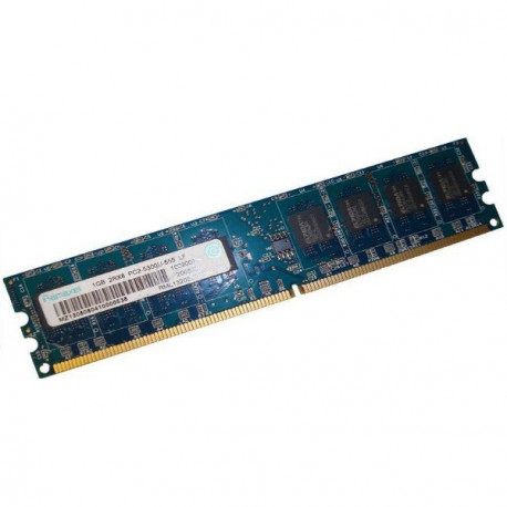 Ram Barrette Mémoire RAMAXEL 1Go DDR2 PC2-5300U RML1320EJ38D7W-667 Unbuffered