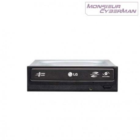 Graveur interne DVD±RW LG DVD Rewriter LightScribe GH22LP20 48x IDE ATA Noir