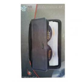 Sacoche Rangement Tekuni 48 CD Housse Classeur CD-6148 DVD Blu-Ray Dj Pro NEUF