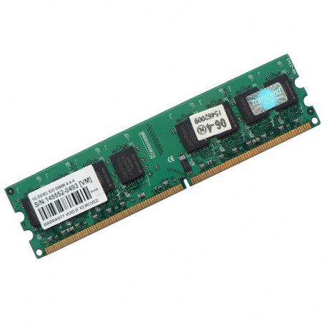 Ram Barrette Mémoire TRANSCEND 1Go DDR2 PC-6400 800Mhz JM388Q643A-8 Unbuffered