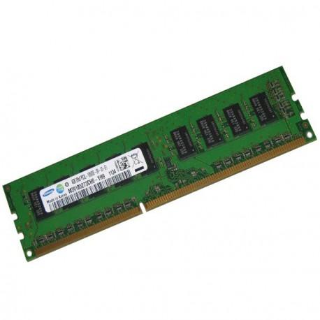 RAM Serveur DDR3-1333 Samsung PC3-10600E 4GB Unbuffered ECC CL9 M391B5273CH0-YH9