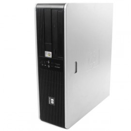 PC HP Compaq DC5750 SFF AMD Sempron 2GHz 4Go DDR2 80Go Windows XP Professionnel