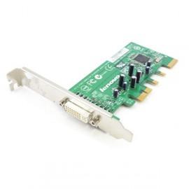 Carte Adaptateur vidéo DVI-I PCI-E x16 LENOVO THINKCENTRE ADD2-R double écran