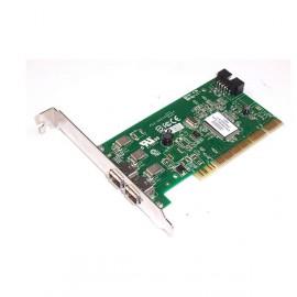 Carte PCI 2x Port Firewire Adaptec AFW-2100 IEEE1394 0F4582 + Câble
