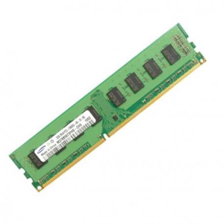 Ram Barrette Mémoire SAMSUNG 1GB DDR3 PC3-8500U M378B2873EH1-CF8 1Rx8 Pc Bureau