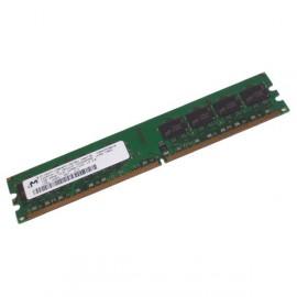 Ram Barrette Mémoire MICRON 256MB DDR2 PC-4200U MT4HTF3264AY-53EB2 Unbuffered