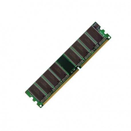 Ram Barrette Mémoire MICRON 256MB DDR PC-3200U MT8VDDT3264AG-40BG4 1Rx8 CL3 PC