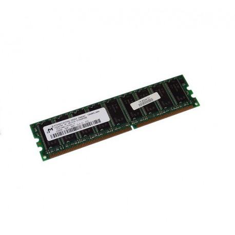 RAM Barette Mémoire Micron 256MB DDR PC-2700U 333MHz MT9VDDT3272AG-335C4 CL2.5
