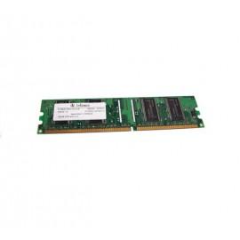 Ram Barrette Mémoire Infineon 128MB DDR PC-2700U 333MHz HYS64D16301GU-6B
