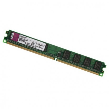 Ram Barrette Mémoire Kingston 1Go DDR2 PC2-4200U KVR533D2N4/1Go CL4 Low Profile
