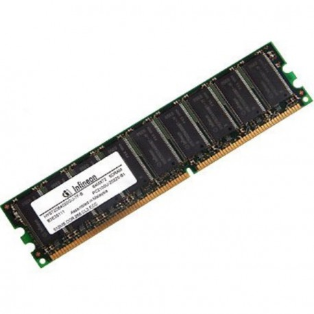 Ram Serveur INFINEON 512Mo DDR SDRAM PC-2100E ECC 266Mhz CL2 HYS72D64020GU-7F-B