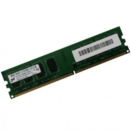 Ram Barrette Memoire MICRON 2Go DDR2 PC2-6400U 800Mhz CL6 MT16HTF25664AY-800J1