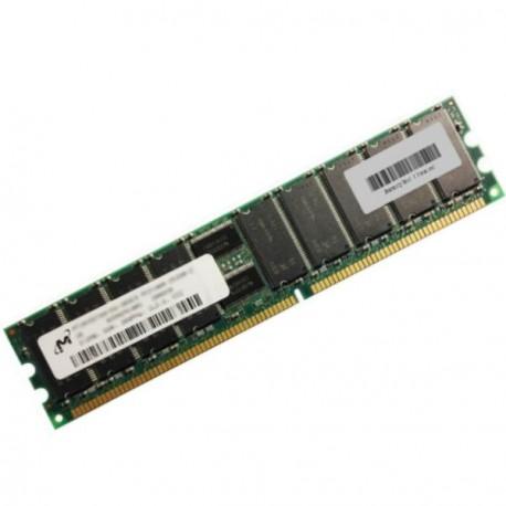 Ram Serveur MICRON 512Mo DDR PC-2100R Registered ECC 266Mhz MT18VDDT6472G-265C3
