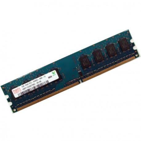 Ram Barrette Memoire HYNIX 1Go DDR2 PC2-6400U 800Mhz 1Rx8 HMP112U6EFR8C-S6 AB