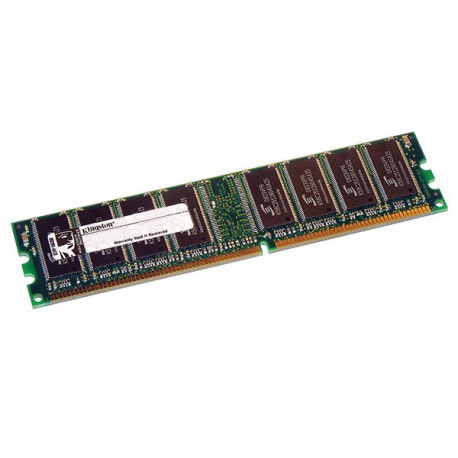 Ram Serveur KINGSTON 512Mo DDR1 PC-2700R Registered ECC 333Mhz KVR333X72RC25/512